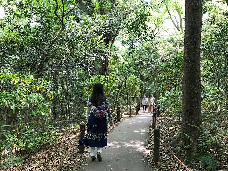 熱田神宮・こころの小径