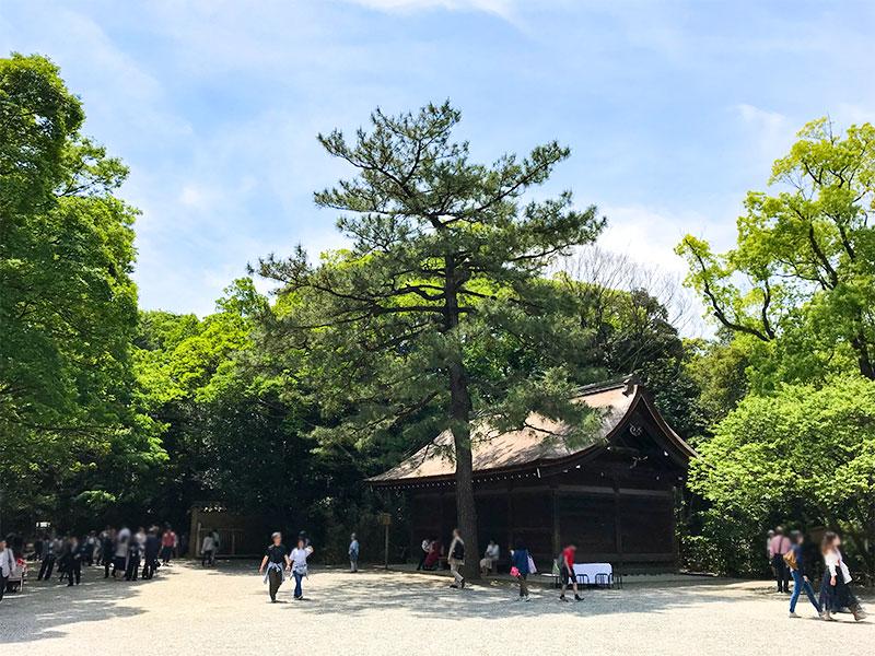 熱田神宮・西楽所