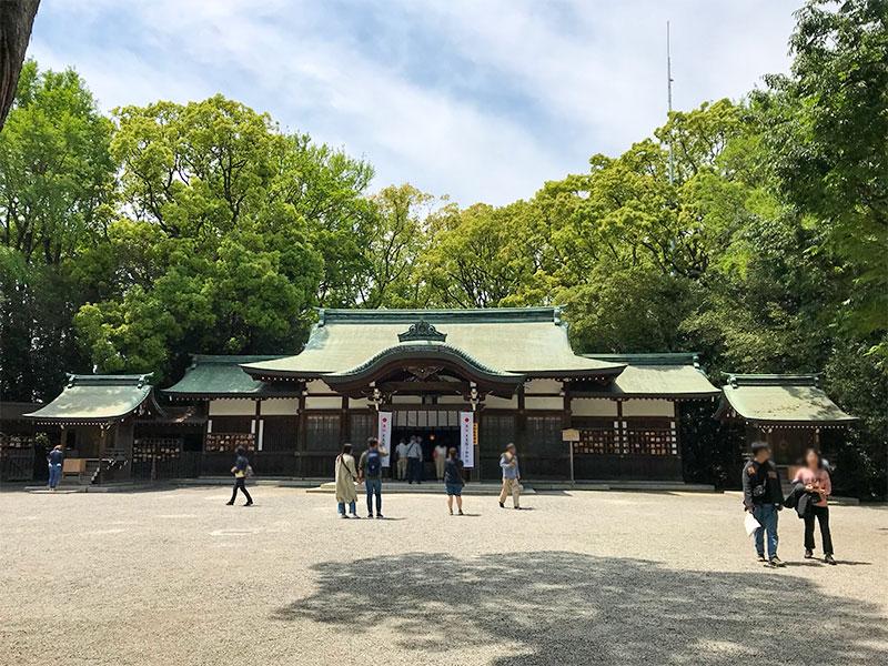 熱田神宮・上知我麻神社(かみちかまじんじゃ)