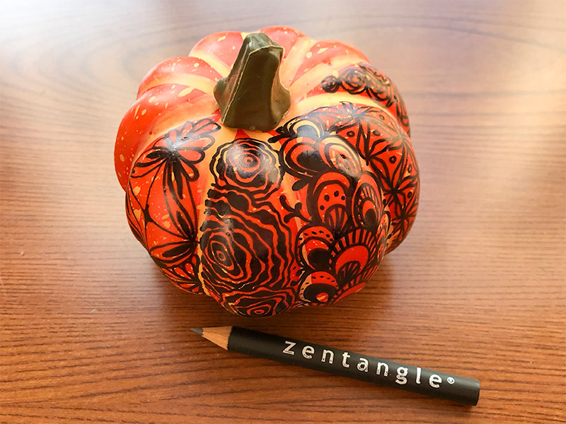 かぼちゃゼンタングル