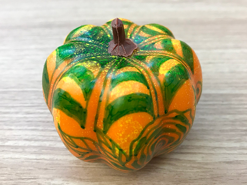 かぼちゃのゼンタングル(zentangle)