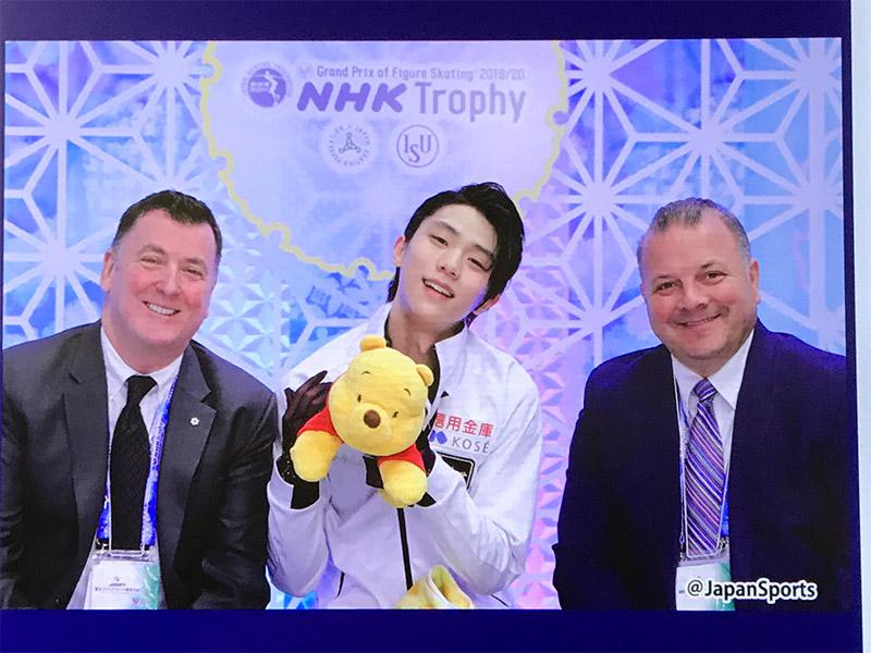 2019NHK杯フィギュアスケート・エキジビジョン