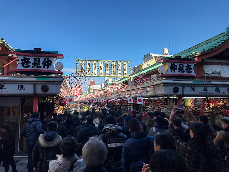 浅草寺・初詣