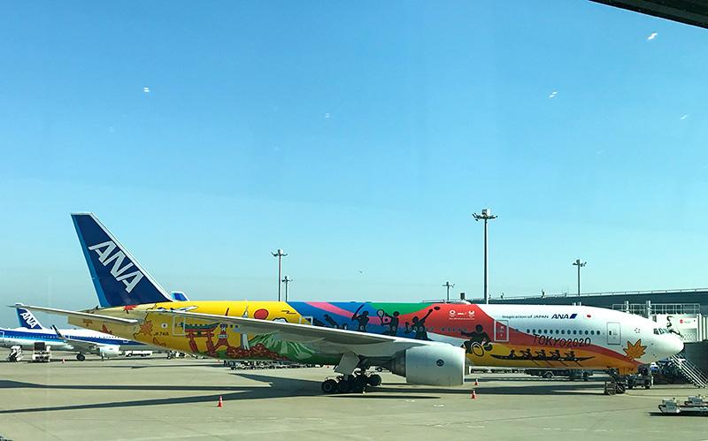 ANA東京オリンピックラッピング機体