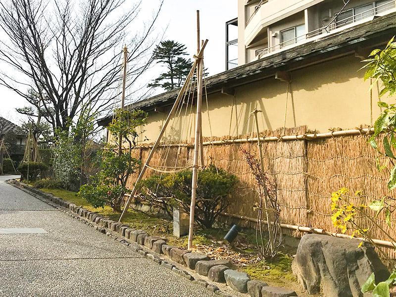 金沢・雪吊り
