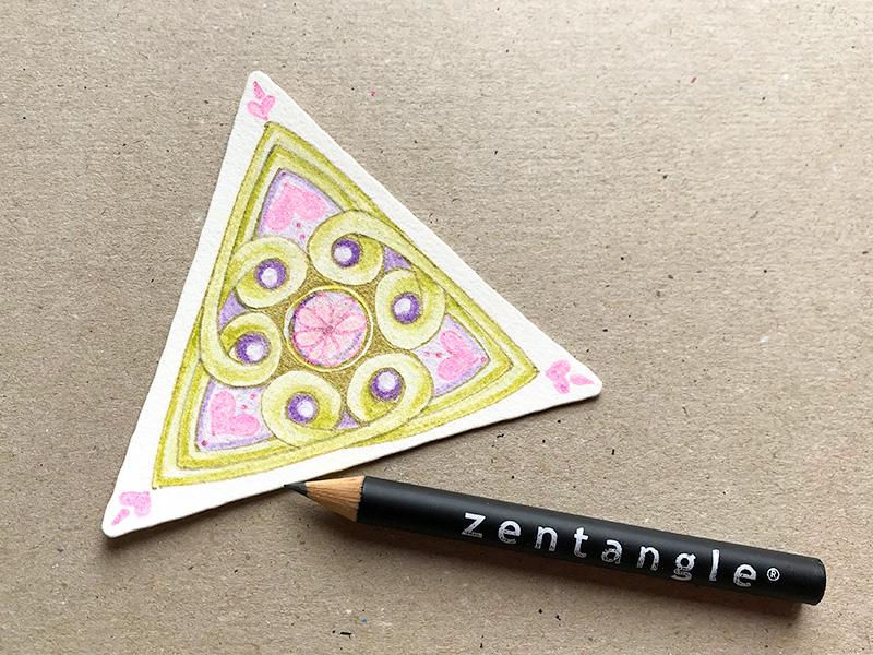 zentangle(ゼンタングル)valentangle(バレンタングル)