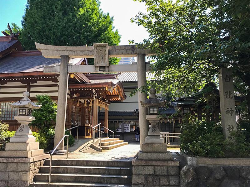 名古屋・白龍神社
