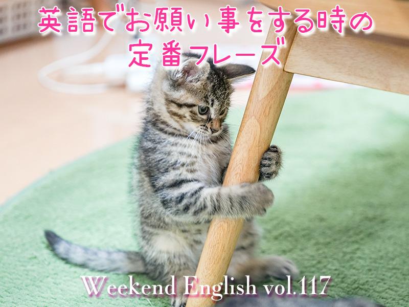 週末英語(weekend english)お願いの定番フレーズ