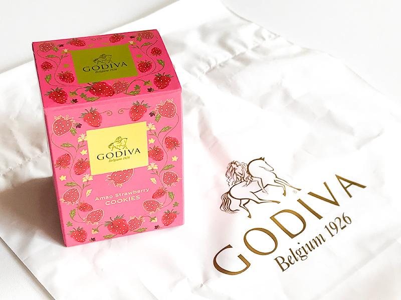 GODIVA(ゴディバ)あまおう苺クッキー