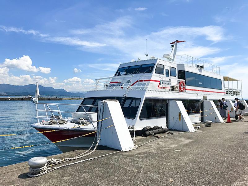 琵琶湖・竹生島フェリー