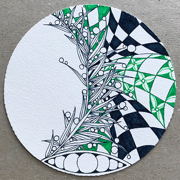 zentangle(ゼンタングル)プロジェクトパック