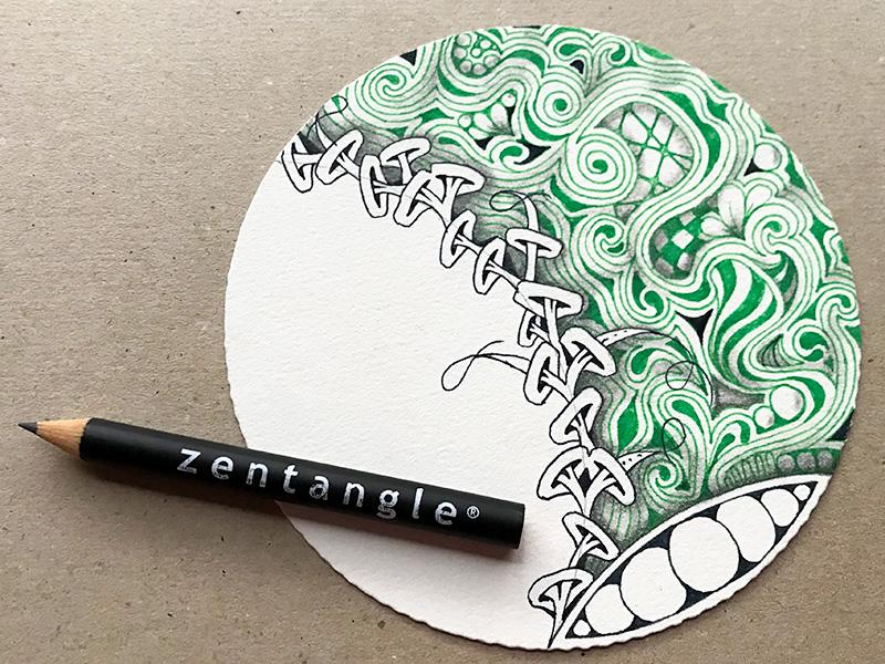ゼンタングル(zentangle)プロジェクト・パック09