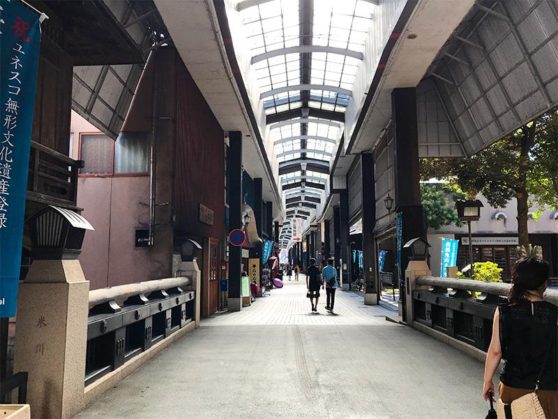 滋賀県長浜黒壁スクエア