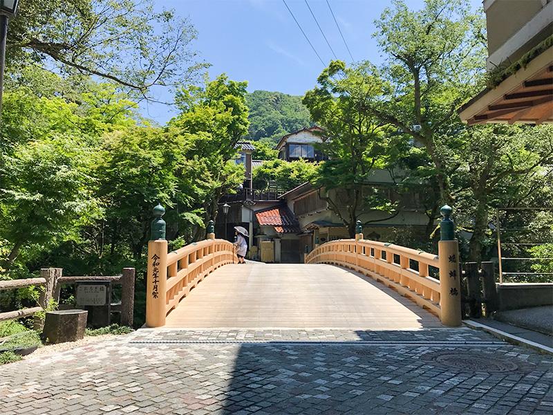 山中温泉鶴仙渓・こおろぎ橋