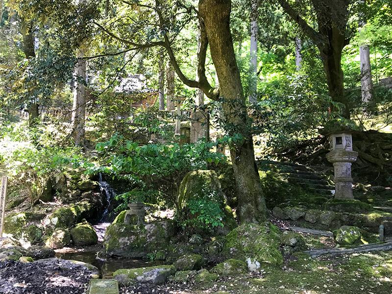 山中温泉・長谷部神社