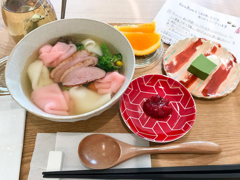 THE TEA SHOP CHANOMI(茶のみ)温野菜スープ