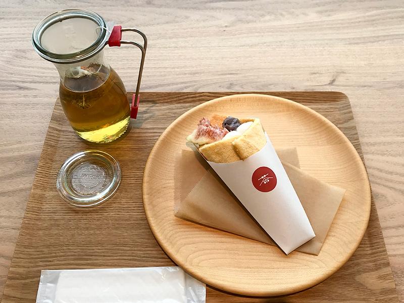THE TEA SHOP CHANOMI(茶のみ)米粉のワンハンドロールケーキ