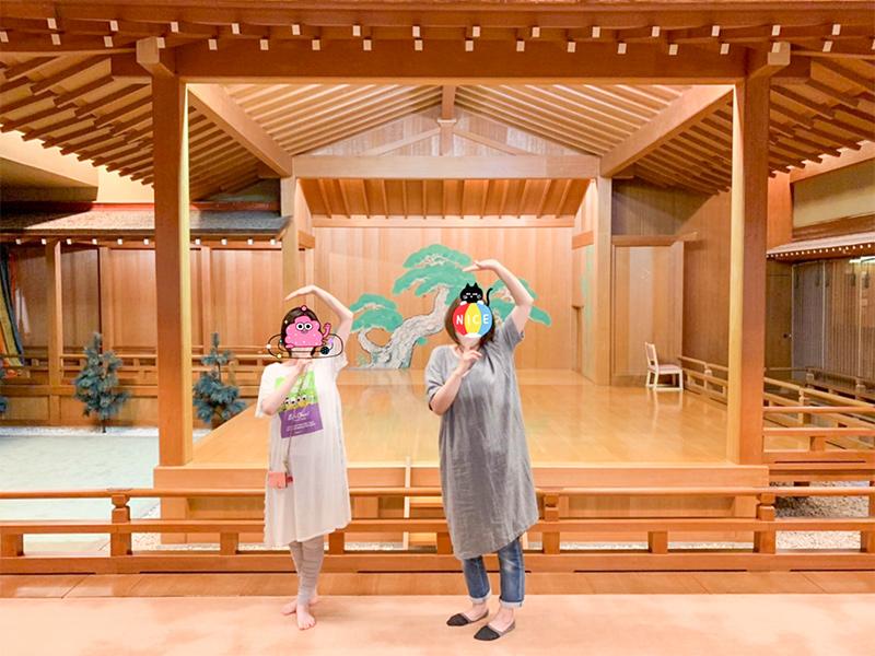 山中温泉・湯快リゾート「よしのや依緑園」能楽堂