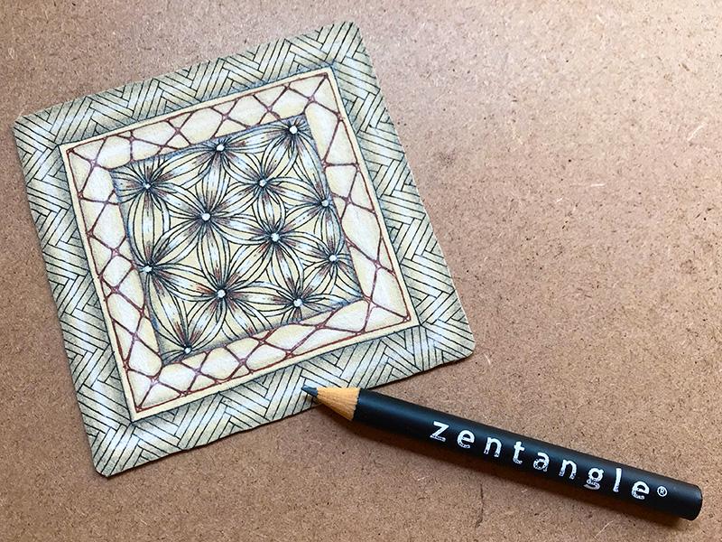 zentangle(ゼンタングル)ルネサンスタイル