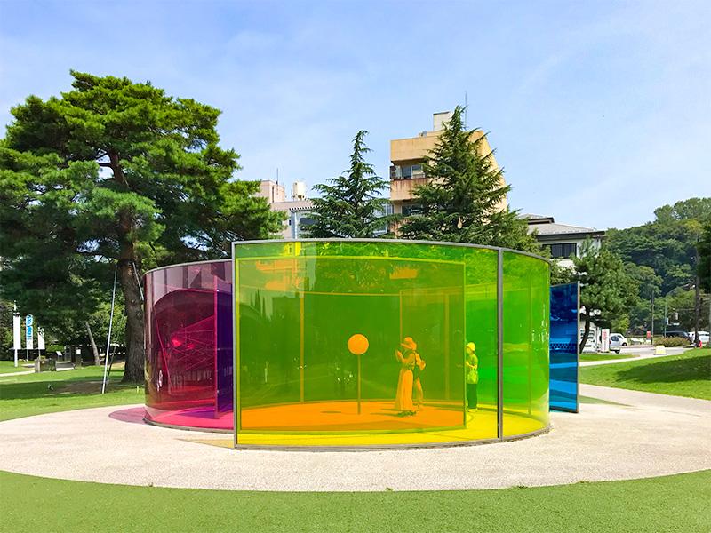 金沢21世紀美術館カラー・アクティビティ・ハウス