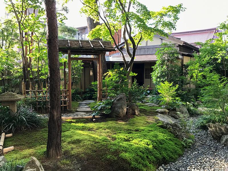 星野リゾート界 加賀・茶室「思惟庵」