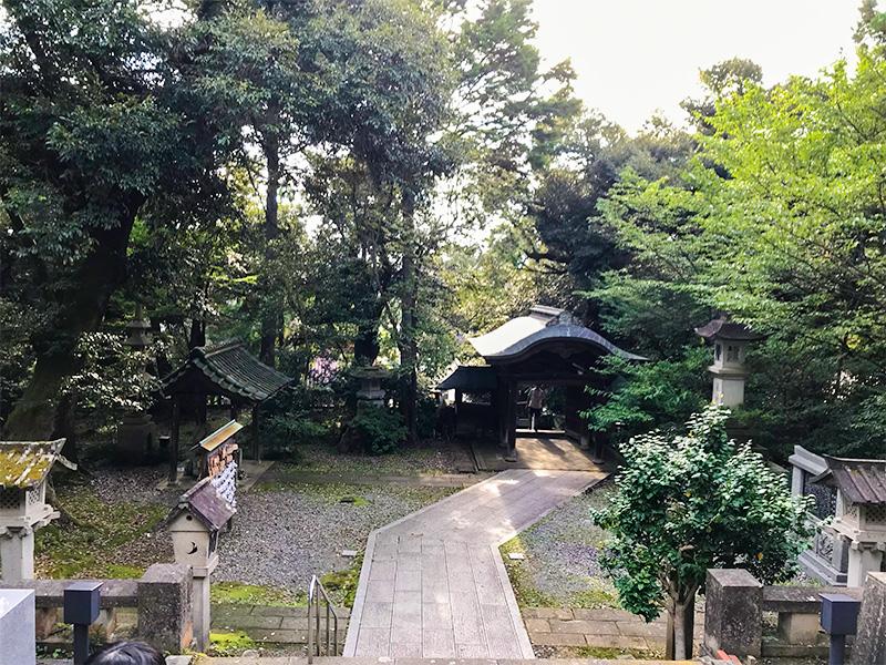 山代温泉服部神社