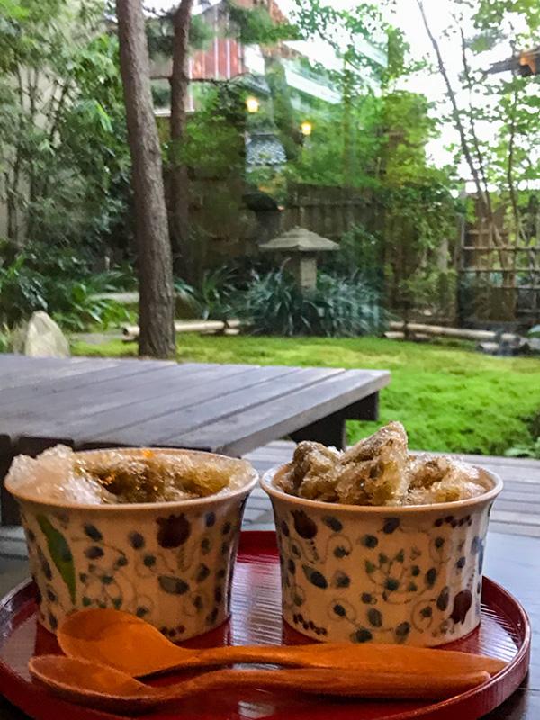 星野リゾート界加賀加賀棒茶かき氷