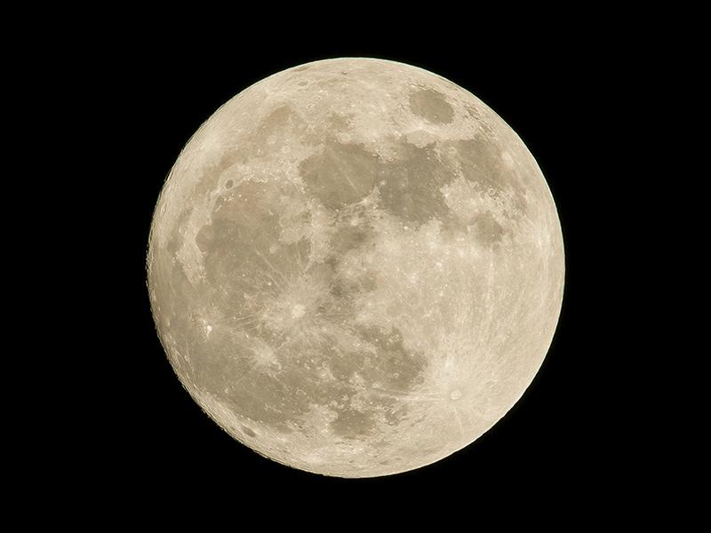 満月(full moon)