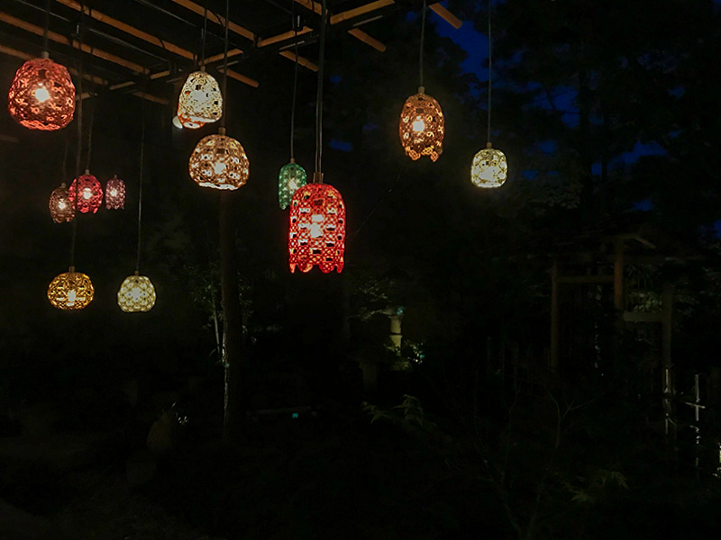 星野リゾート界加賀水引灯り