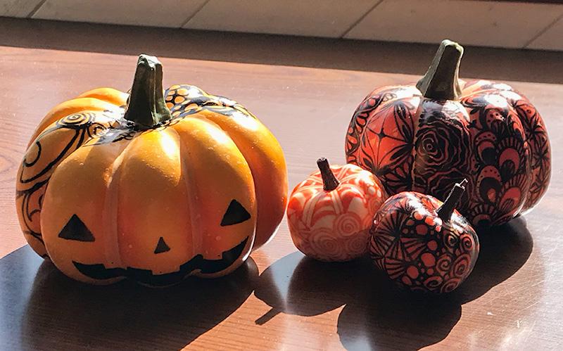 zentangle(ゼンタングル)Halloween(ハロウィン)