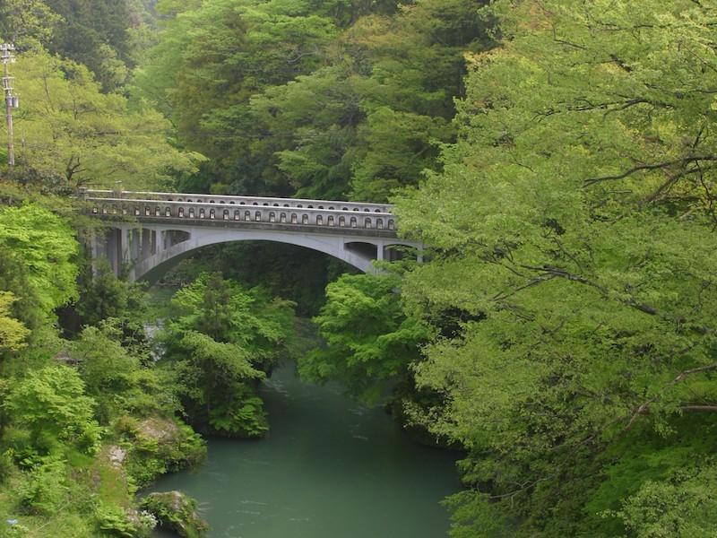 山中温泉黒谷橋