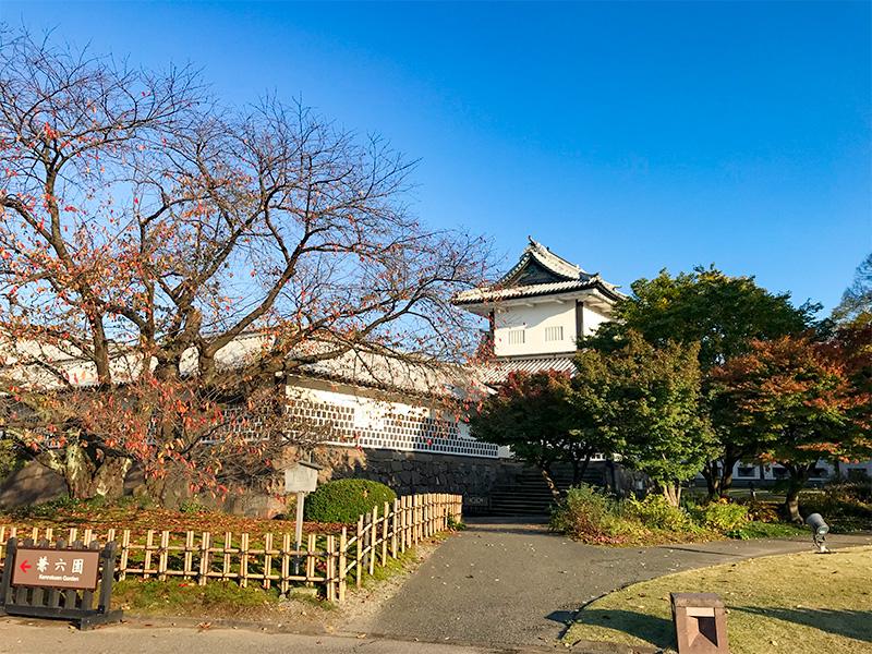 金沢城公園・石川門石川櫓
