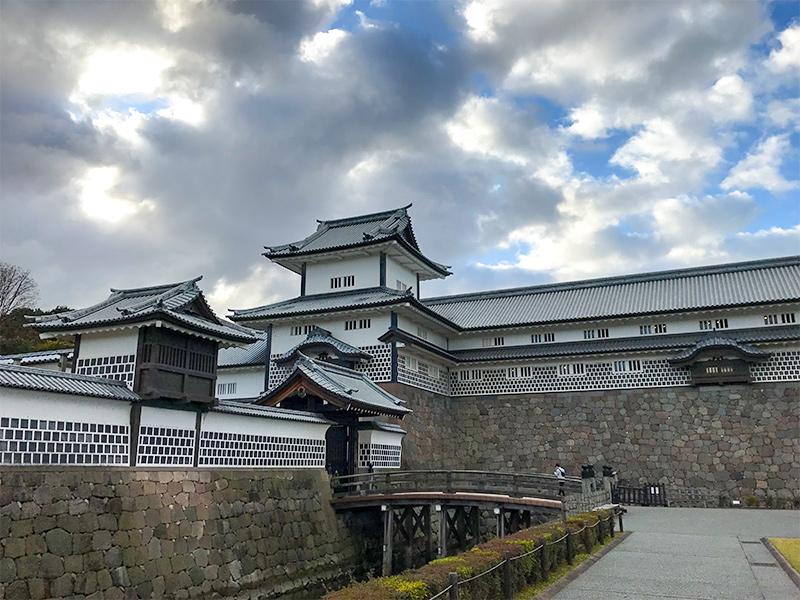 金沢城内堀石垣