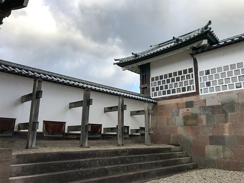 金沢城・橋爪門続櫓