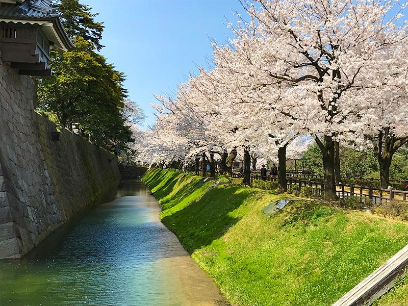 金沢城石垣めぐり二の丸北面