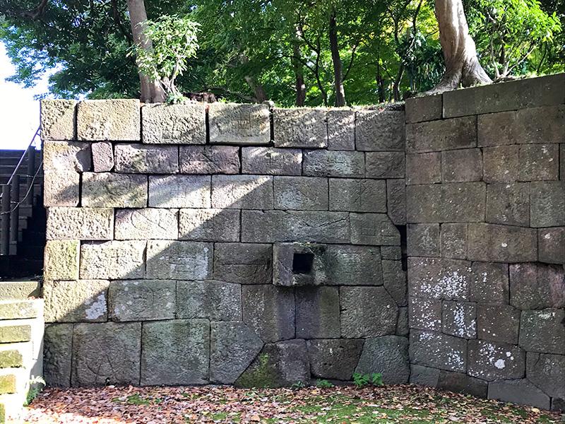 金沢城石垣めぐり数寄屋敷石垣