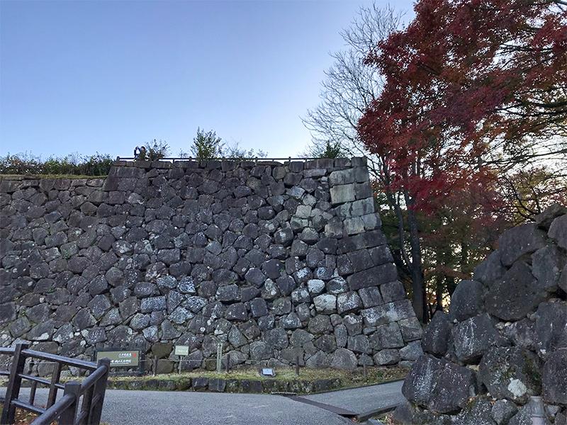 金沢城石垣めぐり戌亥櫓石垣