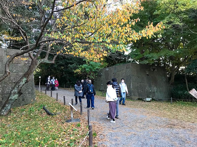 金沢城石垣めぐり鉄門