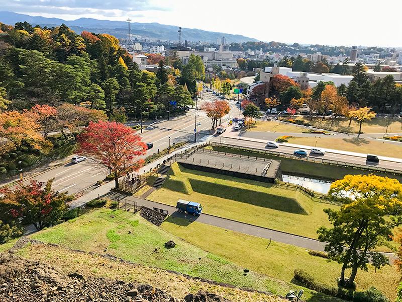 金沢城辰巳櫓跡