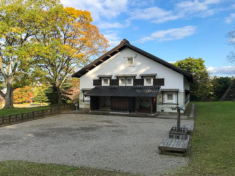 金沢城鶴丸倉庫