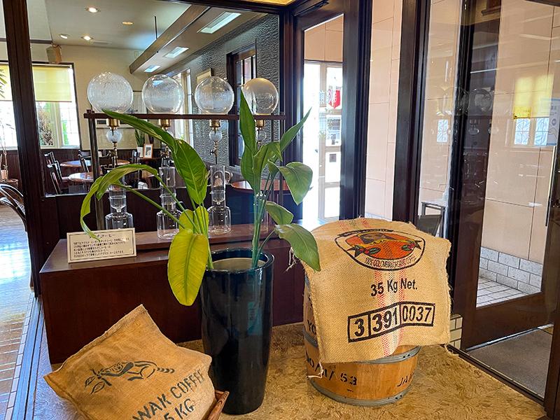 コーヒー豆専門店・キャラバンサライのランチ