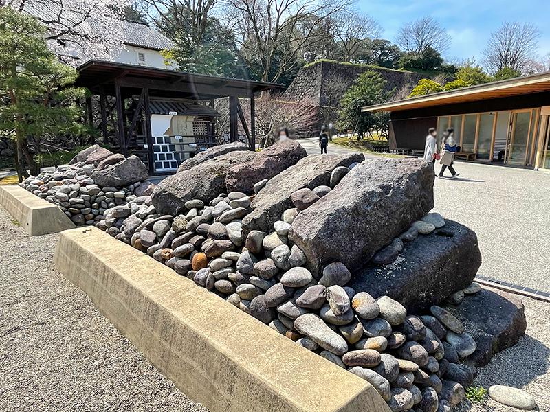 金沢城・鶴の丸土塀構造模型