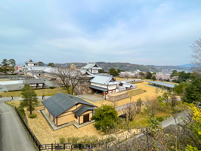 金沢城戌亥櫓跡