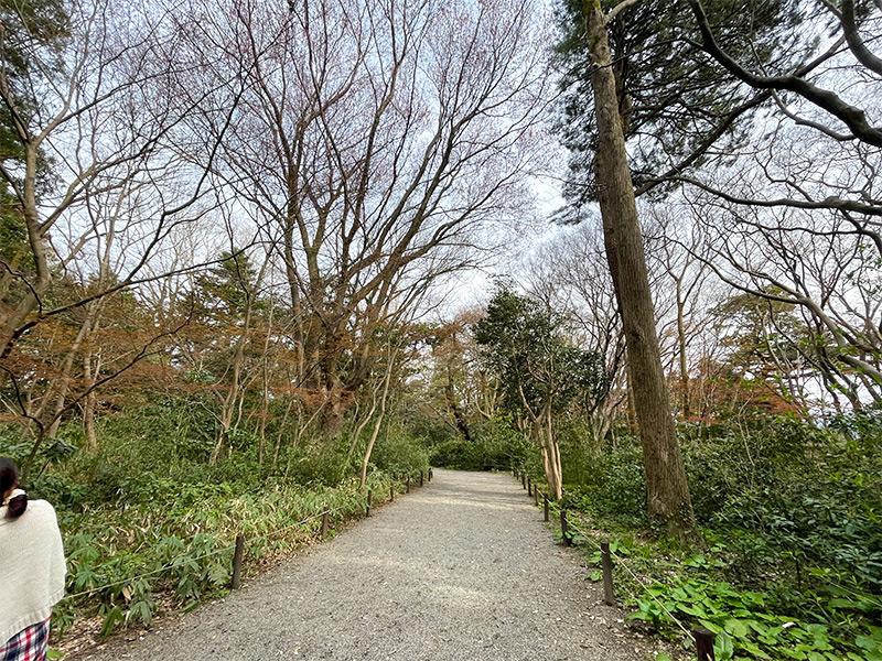 金沢城本丸園地