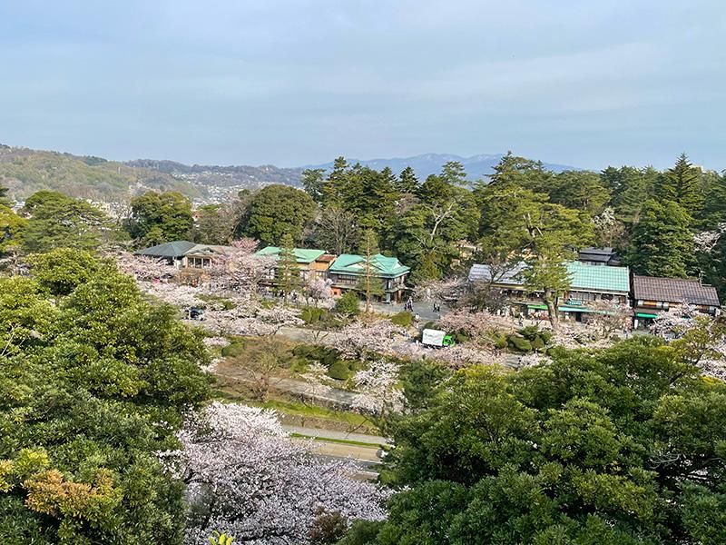 金沢城丑寅櫓跡