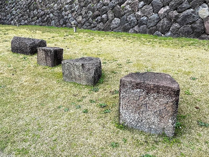金沢城石垣・石積み模型