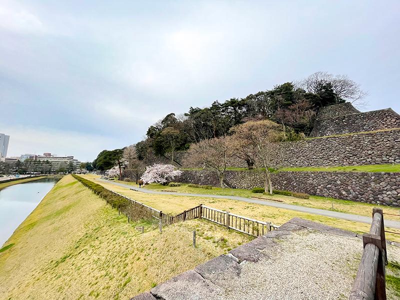 金沢城・鯉喉櫓台石垣
