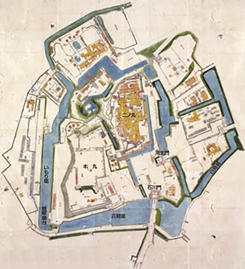 金沢城絵図
