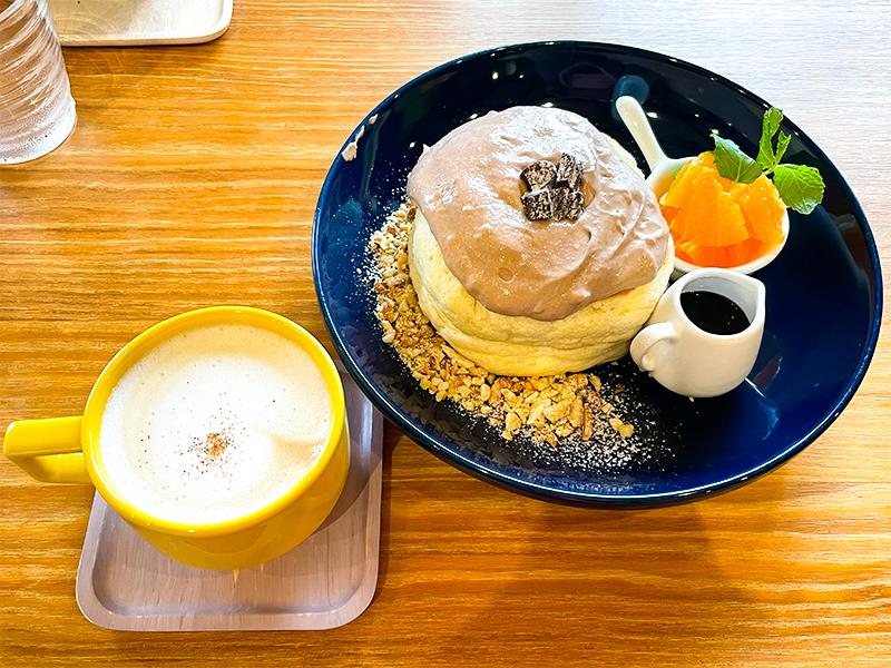 鶴来カフェ・たまごのゆめ、パンケーキ