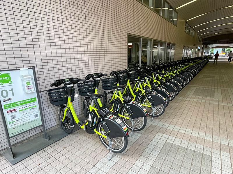 金沢公共レンタサイクルまちのり